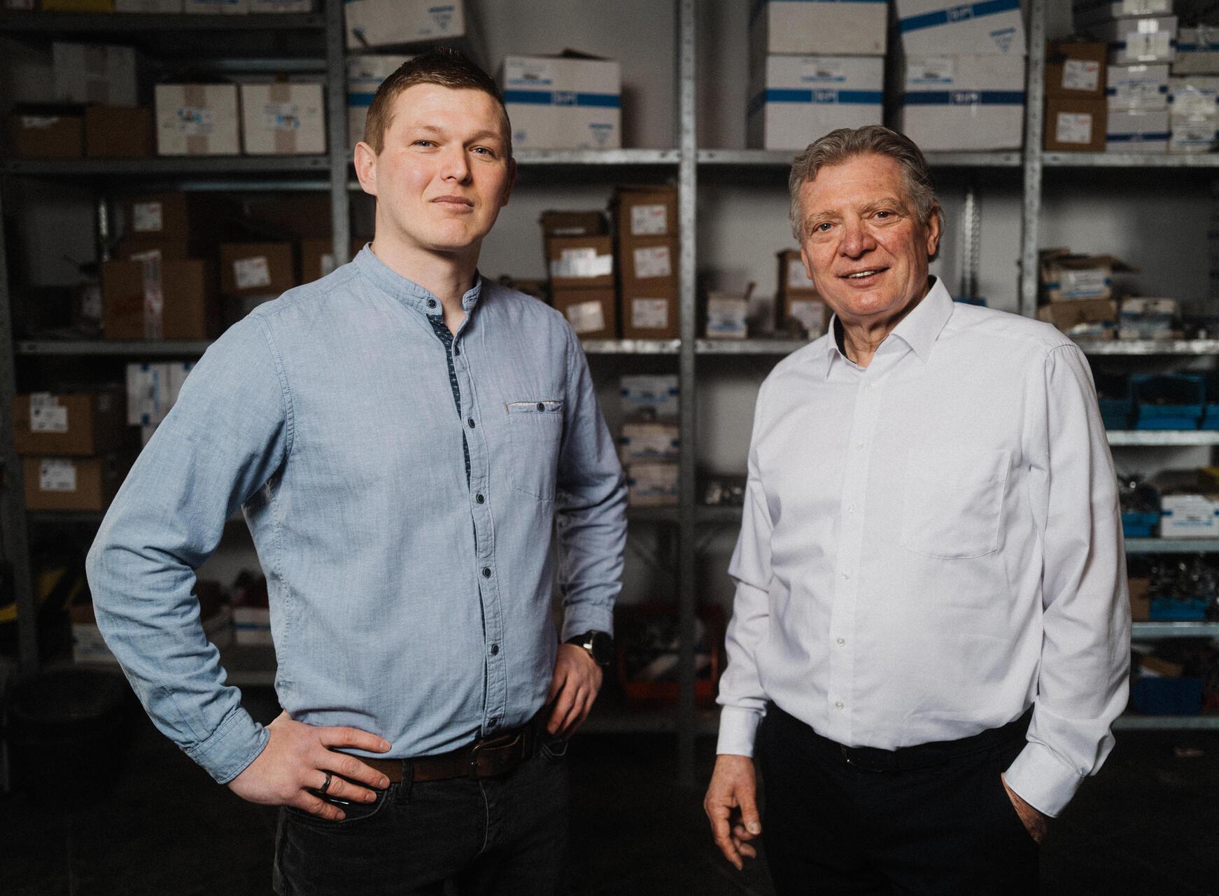 F&P Blitzschutz: Levente Horvath & Gerhard Haupt