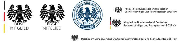 F&P Blitzschutz: Mitglied im Bundesverband Deutscher Sachverständiger und Fachgutachter BDSF