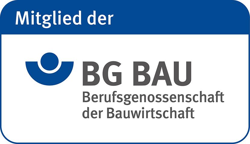 F&P Blitzschutz: Mitgliedschaft BG BAU (Berufsgenossenschaft der Bauwirtschaft)
